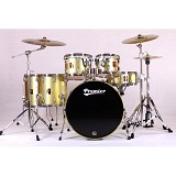 PREMIER Maple Shell Drum Kit XPK Series [KIT 2] - Gold Dusk Sparkle Lacquer - Drum Kit